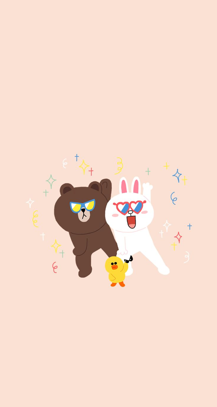 34 best images about line friends on pinterest for Wallpaper home phone