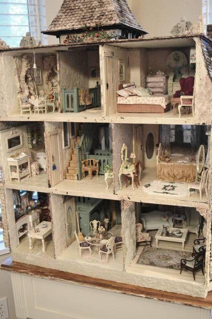 house interior - WyckedWood Beacon Hill~The Sea Hag~ - Gallery - The Greenleaf Miniature Community