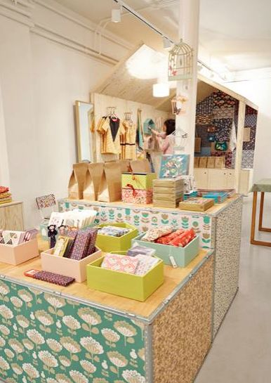 Pop up store Mini labo http://blog.minilabo.fr Crédit photo: Fred Perrot