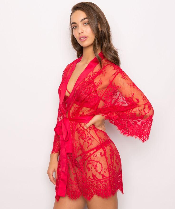 Dreamer Wrap - Red - Robes & Wraps - Sleep