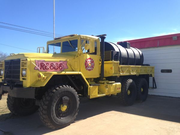 Military Truck From Texas A Amp M Forest Service Converted For