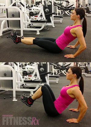 Cable Leg Pull-ins: Amping up a basic exercise. This week, Juliana demonstrates CABLE LEG PULL-INS—a challenging but effective exercise targeting the lower abdominals. As you've probably experienced, training the lower abdominals can be difficult, especially when adding resistance.