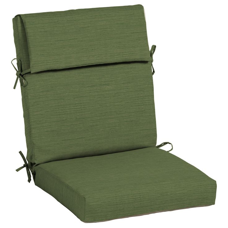 allen + roth Neverwet High Back Patio Chair Cushion Lowes ...
