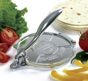 TORTILLA PRESS http://www.coast2coastkitchen.com/store/specialty-kitchen-tools/ethnic-cooking/tortilla-press-