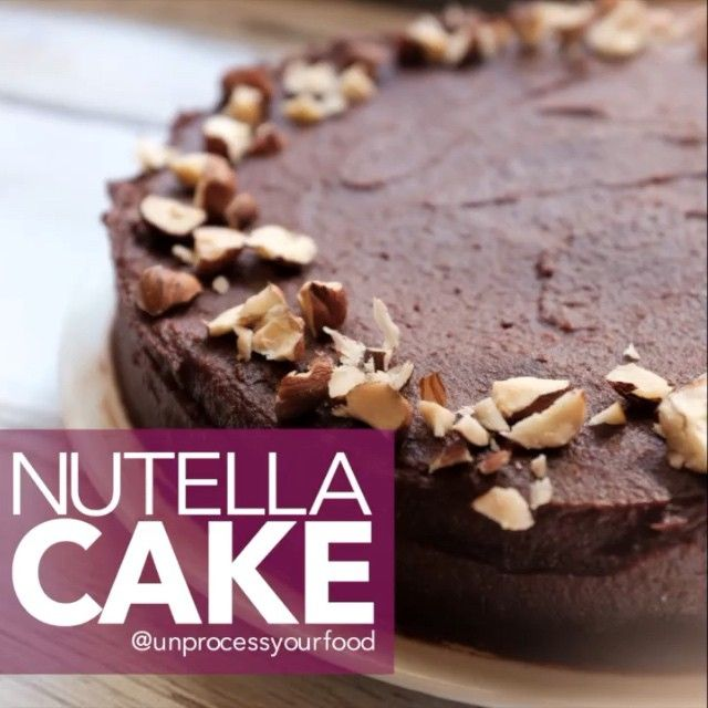 Nutella Cake ➡️ ⅓ cup cocoa powder ➡️ ¼ cup coconut flour ➡️ 1 teaspoon baking soda ➡️ ¼ cup maple syrup ➡️ ¼ cup coconut oil, melted ➡️ 1 teaspoon vanilla extract ➡️ 4 eggs --------------------- DIRECTIONS: Preheat oven to 350 degrees. Mix cocoa powder, coconut flour, and baking soda in the Dash Everyday Mixer. Add maple syrup, coconut oil, vanilla, and eggs. Mix again. Pour into a 6 inch round pan lined with parchment paper and bake 20 minutes or until a toothpick inserted comes out clean