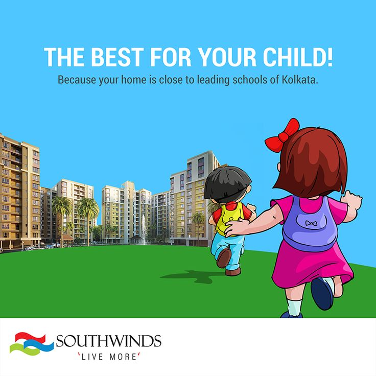 #Southwinds #Kolkata is well connected to all leading #schools in the city. Visit us : http://www.southwinds.in/