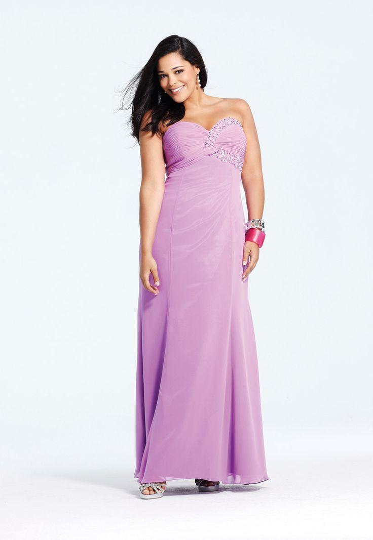 Mejores 85 imágenes de Faviana Plus en Pinterest   Vestidos de noche ...