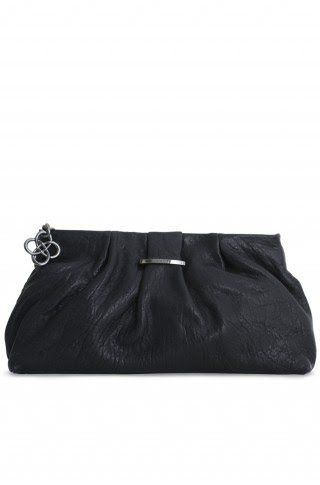 VIDA Leather Statement Clutch - FOREVER by VIDA 3Yr1CtC