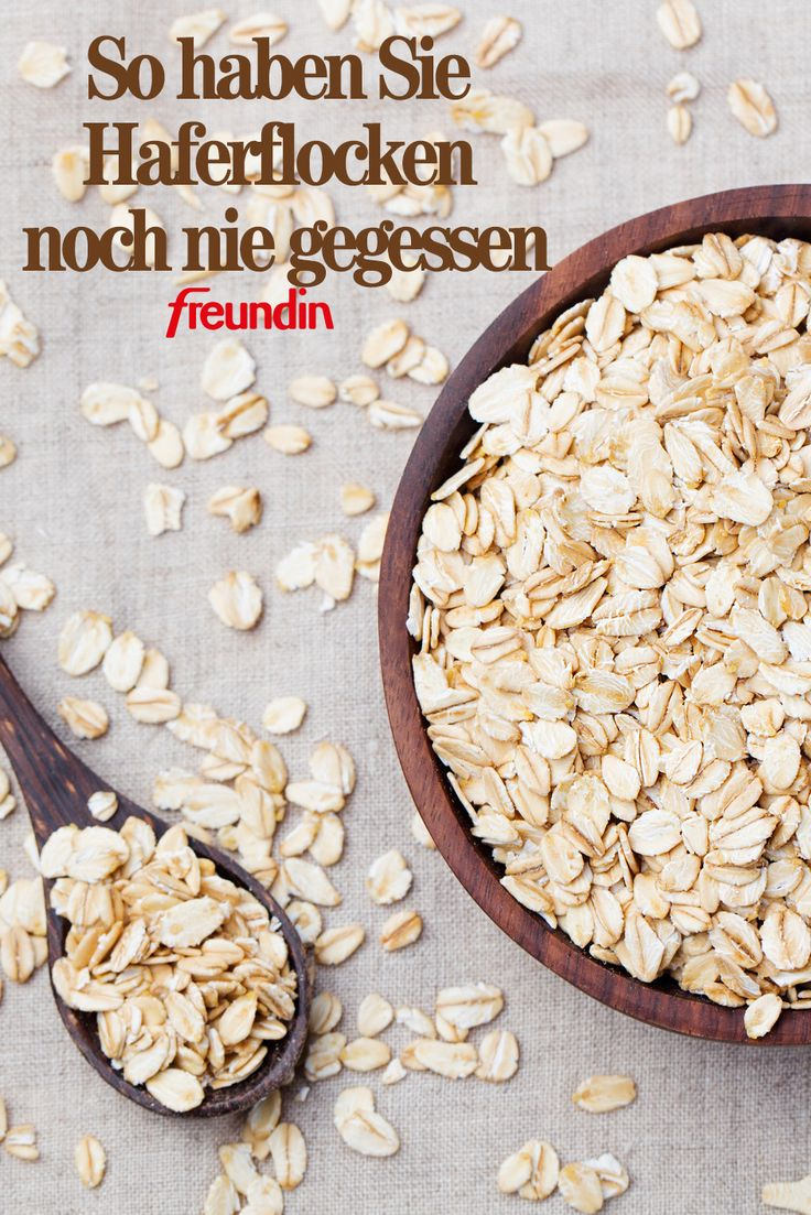 As a porridge or cereal, oatmeal often lands on our dining table. These…  – Die besten Rezepte mit Haferflocken