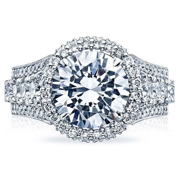 #TacoriRoyalTCollection  Tacori RoyalT Collection Tacori HT2613RD Engagement Ring- Genesis Diamonds #genesisvalentine