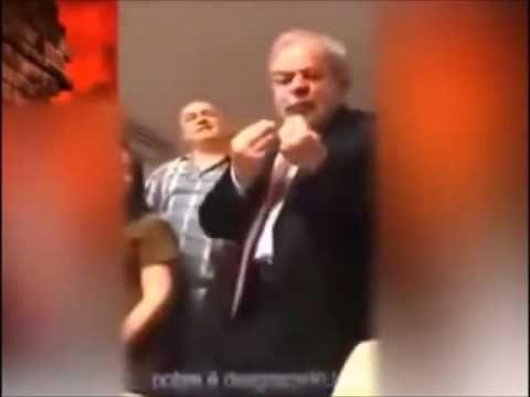 Câmera escondida filma Lula falando de pegar R$ 300 bilhões...