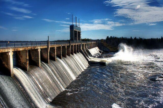 Dam It #Dam #WinnipegRiver #SevenSisters #Falls #WhiteshellPark #Manitoba #Canada #Hydro