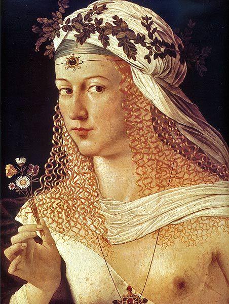 Lucretia Borgia 18.4.1480 Rom - 24.6.1519 Ferrara Tochter von Papst Alexander IV, 3 mal verheiratet mit Giovanni Sforza, Alonso von Aragon und Alfonse d'Este. Mit letzterem hatte sie mehrere Kinder.
