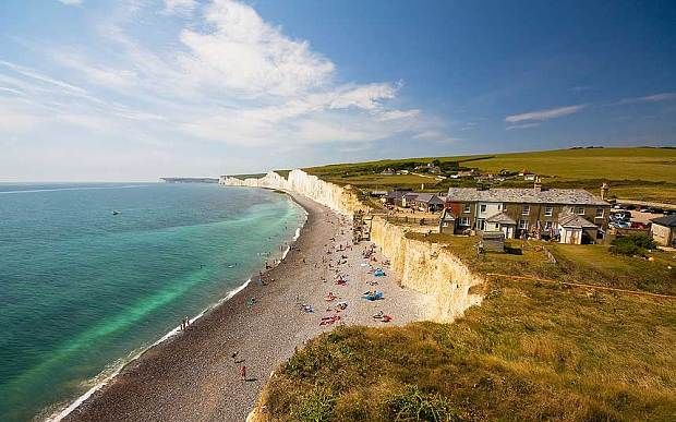 UK coastal walks: Belle Tout lighthouse, Birling Gap, East Sussex - Telegraph
