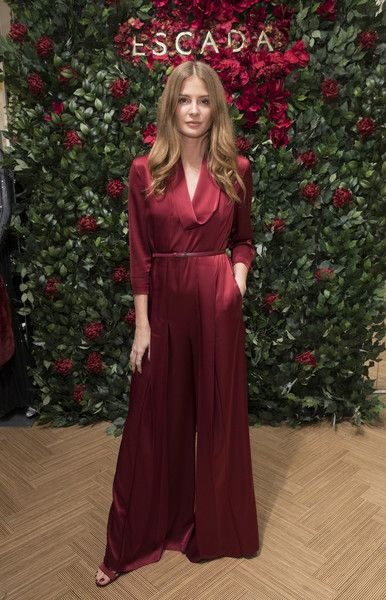 Millie Mackintosh attends New Flagship Store Opening of Luxury Fashion Brand ESCADA, on Sloane Street on November 15, 2017 in London, England.