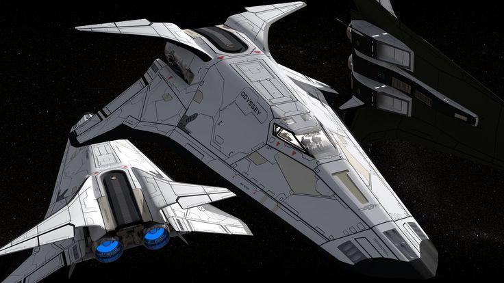 Odyssey Endeavour Shuttle 1080p by hermond.deviantart.com on @DeviantArt