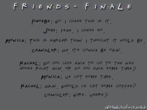 just watched the finale!  best last line ever!