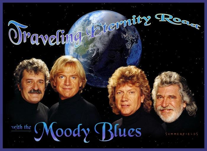 The Moody Blues,  quinteto de Músicos Británicos formados en Birmingham © 1964. Su primera voz fue Denny Laine,  También participaban en el grupo Graeme Edge (batería), Ray Thomas (flauta y voz), Clint Warwick (bajo, voz) y Mike Pinder (teclados). Denny Laine cedió su sitio a Justin Hayward, guitarra y voz y también se incorporó al grupo John Lodge, bajo. Su segundo trabajo, Days Of Future Passed 1967 http://euro80s.net/the-moody-blues.html