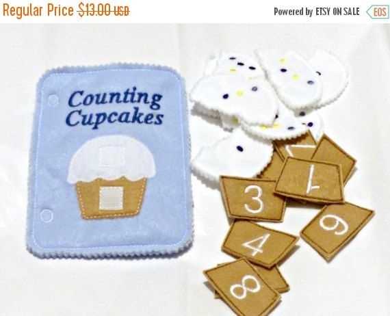 SALE Quiet activity book addon page Cupcake by itsthesmallthings