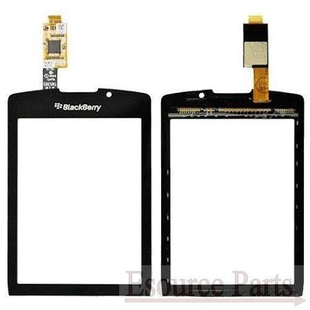 DIGITIZER TOUCH SCREEN GLASS FOR BLACKBERRY 9800 - BLACK