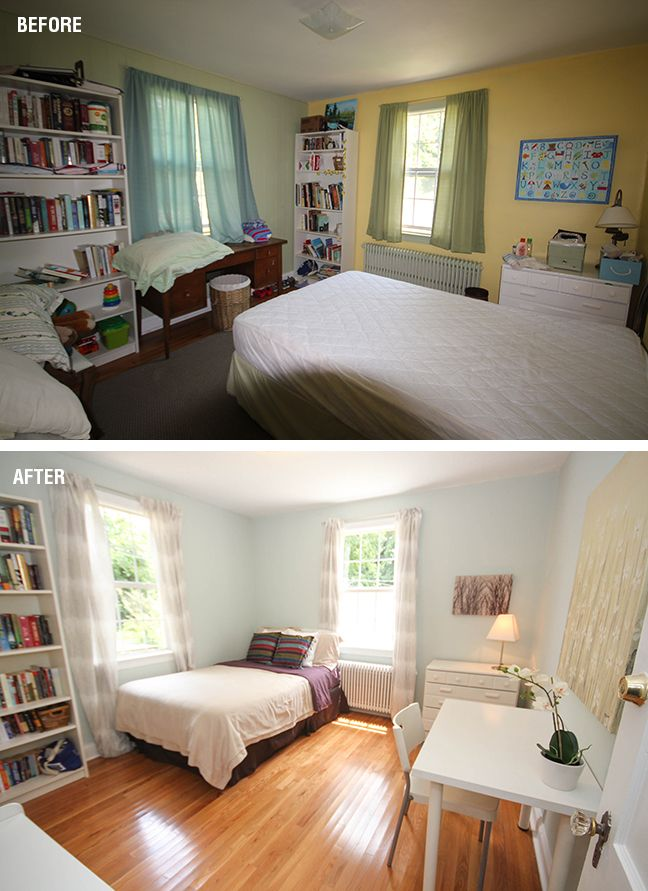 Home office/guest bedroom transformation by the Pure Energy design team
