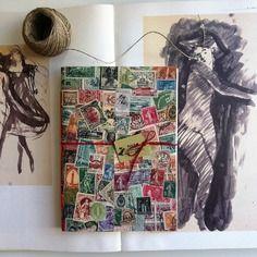 Notebook *scrivimi* fatto a mano