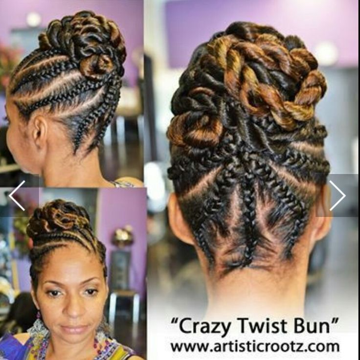 25 best braided hairstyles images on Pinterest | African hairstyles ...