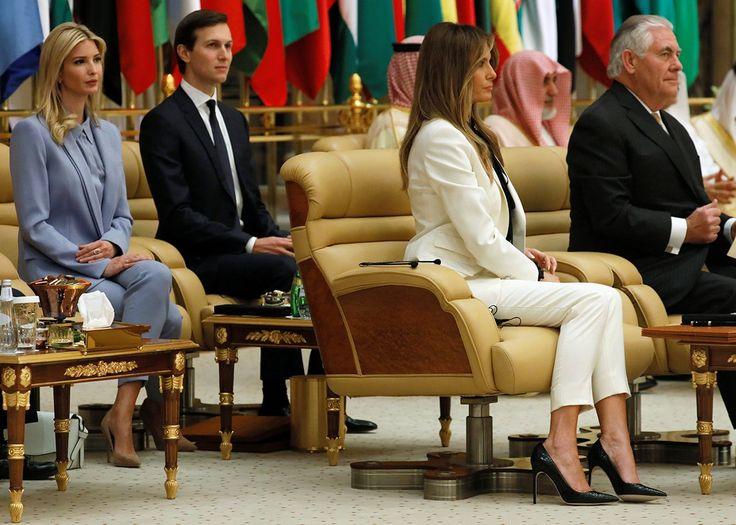 Ivanka and Melania Were Beautiful and Silent in Saudi Arabia—Shining  Examples of Empowerment!