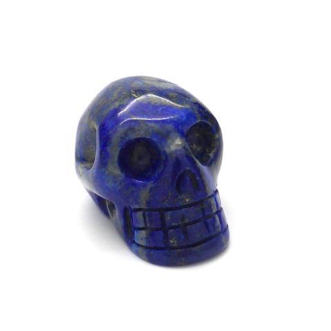 Skull   Lapis Lazuli   Hand Carved Gemstone   deeper spiritual meanings   Crystal Heart Melbourne Australia since 1986