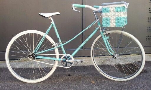 Bicicletta single speed Tiffany & Co.