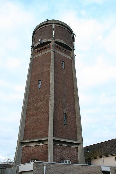 Watertoren Klaaswaal_bj 1929