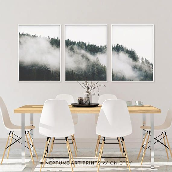 Minimalist Forest Print Tree Wall Art Set Of 48 Forest Print Beauteous Apartment Design Online Minimalist