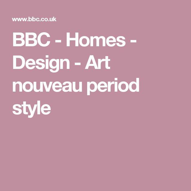 BBC - Homes - Design - Art nouveau period style