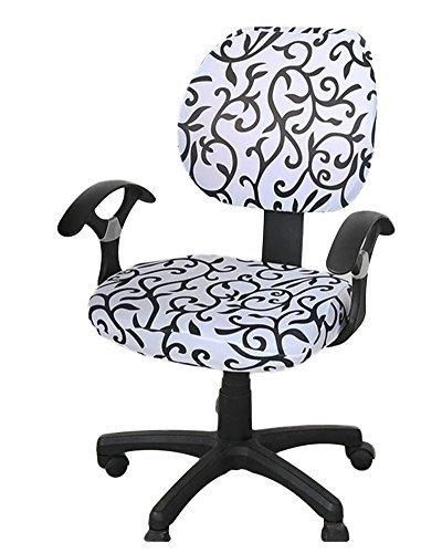 CZY Computer Office Chair Cover Universal Chair Cover Stretch Rotating Chair  Cover
