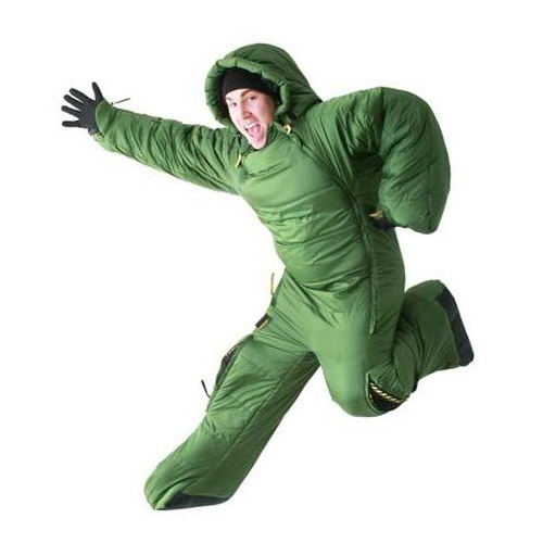 Sleeping bag/Running bag