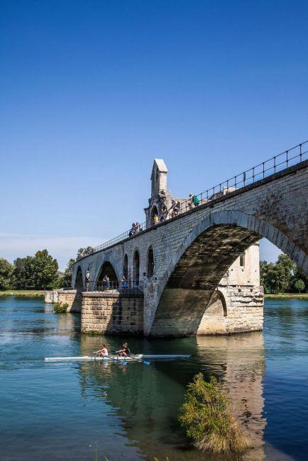 Morning  at the Avignon, Bridge in France | Picfari.com
