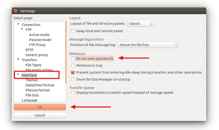 olve FileZilla Not Saving Passwords Issue - Save password settings in FileZilla Site Manager. Simple steps to enable password saving in FileZilla Client.