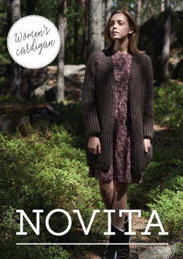 98021c58f Women s Cardigan in Novita Natura - Downloadable PDF
