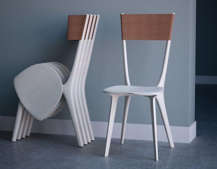 Складные стулья.