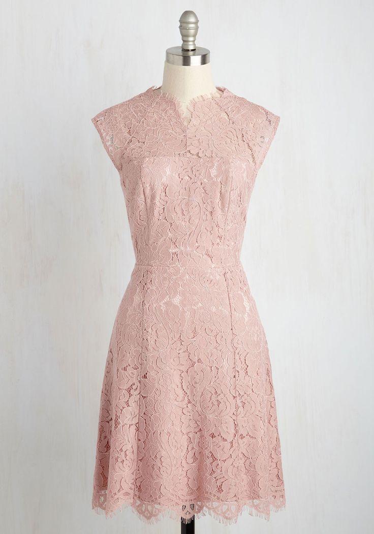 Celebrate Success Lace Dress in Petal, @ModCloth