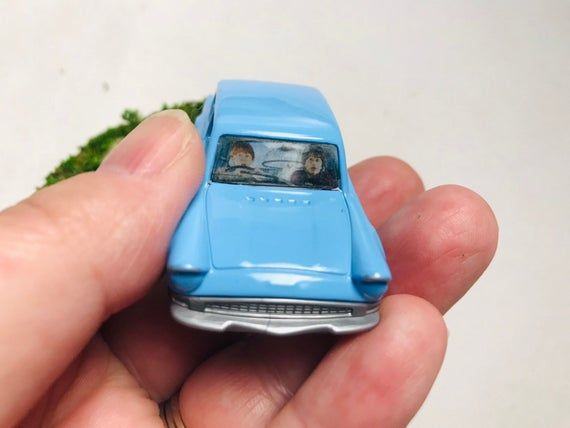 Flying Ford Anglia 105e Weasley Family Car Etsy In 2020 Ford Anglia Weasley Family Family Car