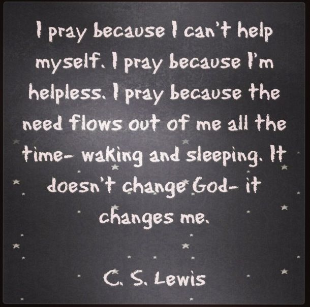 c.s. lewis essay on prayer Of essays of short fiction of poetry of letters place to put lewis references to prayer this is not because prayer is a weaker kind of causality.