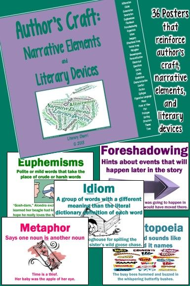 006 Author's Craft Narrative Elements and Literary Devices