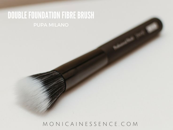 DOUBLE FOUNDATION FIBRE BRUSH Pupa Milano