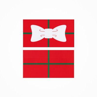 クリスマスプレゼント用封筒 (D=慶本俊輔/CL=外資系金融機関勤務ライフプランナー)