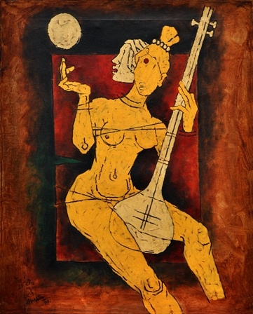 Maqbool Fida Husain - Untitled
