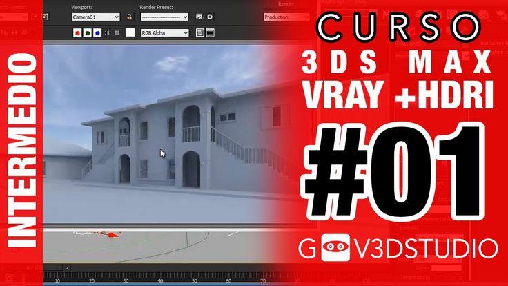 3ds Max + Vray HDRI -01- Como iluminar con HDRI
