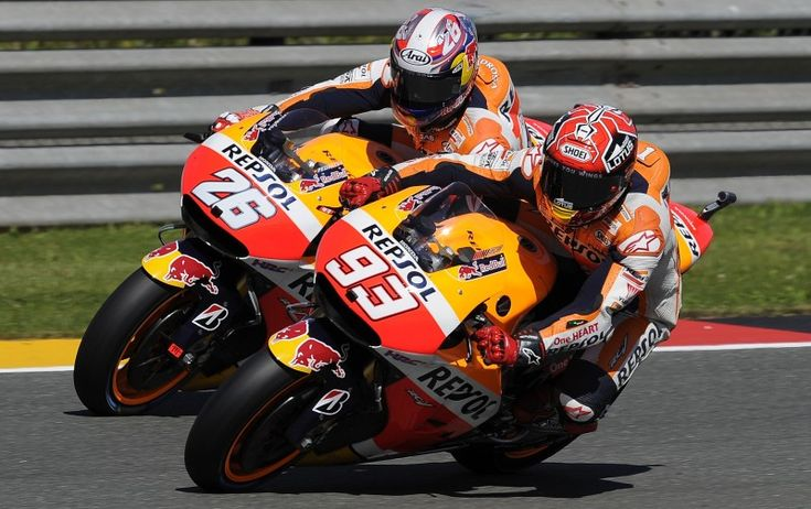 From Vroom Mag... Marc Marquez 1st, Dani Pedrosa 2nd in Sachsenring qualifying