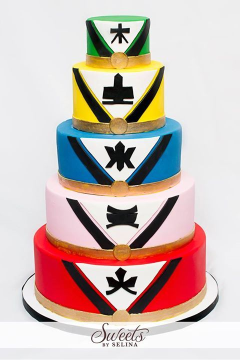 Power Rangers Samurai cake