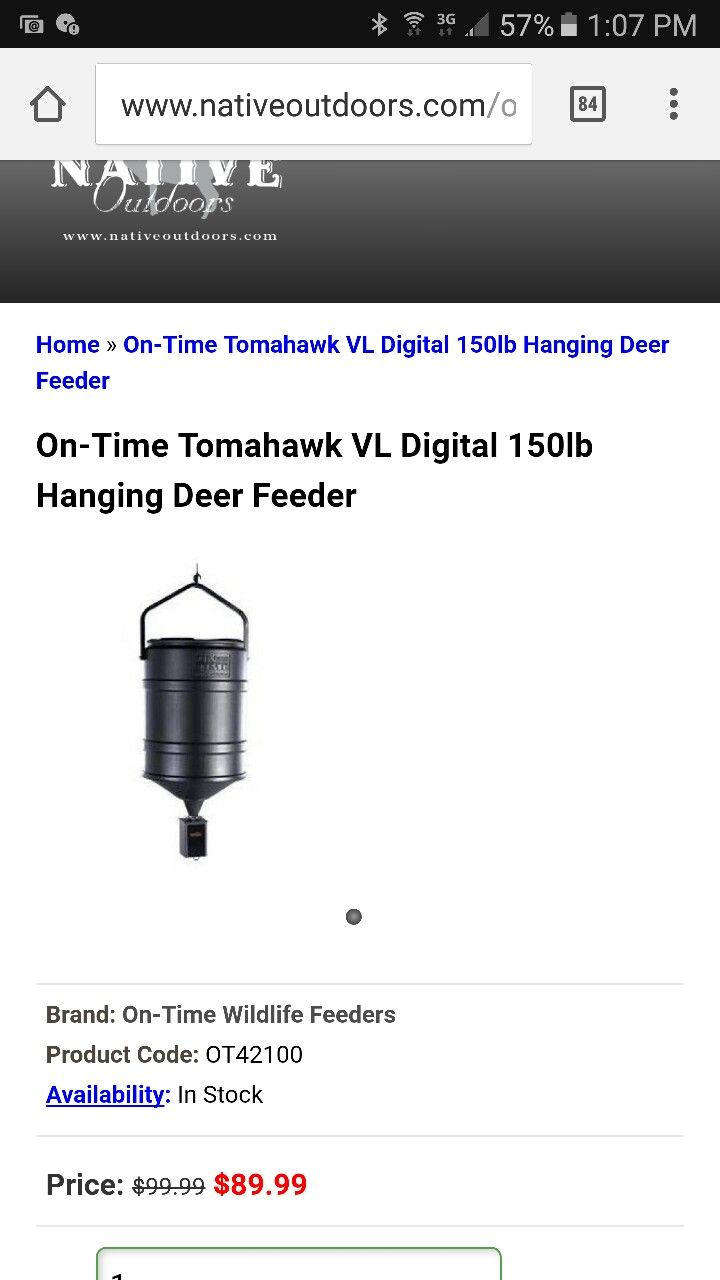 at index deer guide product ts solar hunter feeders feeder sportsman charger american s instructions